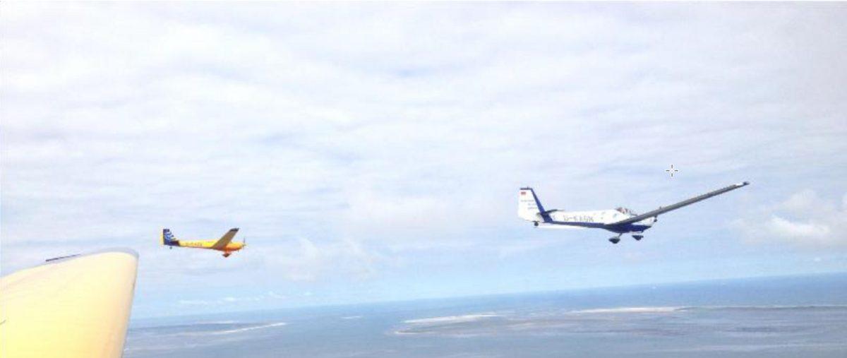 Motorflug-Sicherheitstraining für Mitflieger